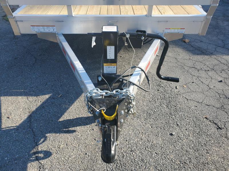 2021 Sure-Trac 7 X 20 ALUMINUM 14K Equipment Trailer