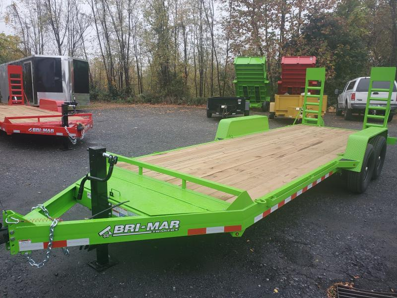 2021 Bri-Mar EH20-14-HD Equipment Trailer