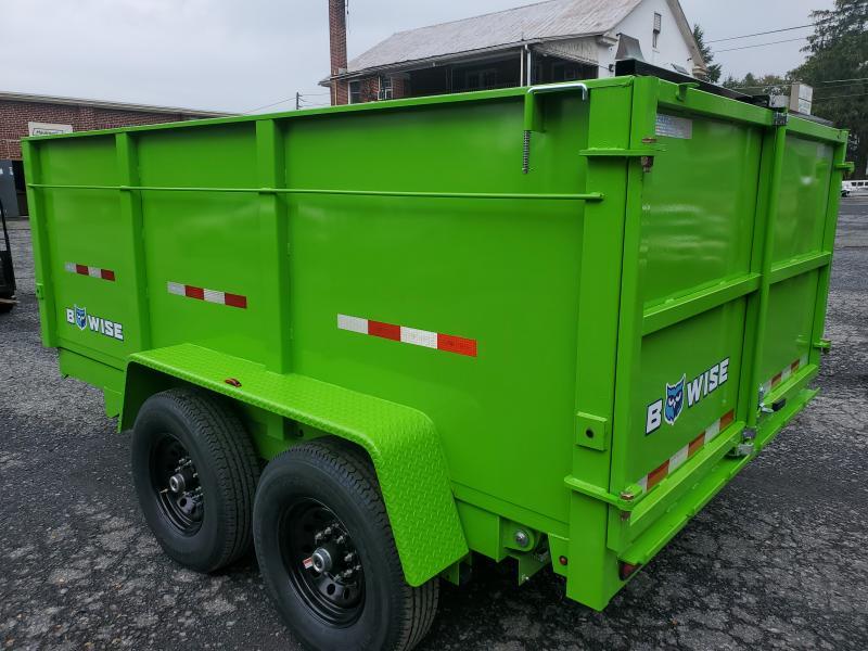 2022 Bri-Mar DT712LP-LE-14-HIGH SIDE Dump Trailer