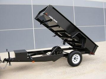 2020 5 X 8 3K Bri-Mar LOW PROFILE Dump Trailer