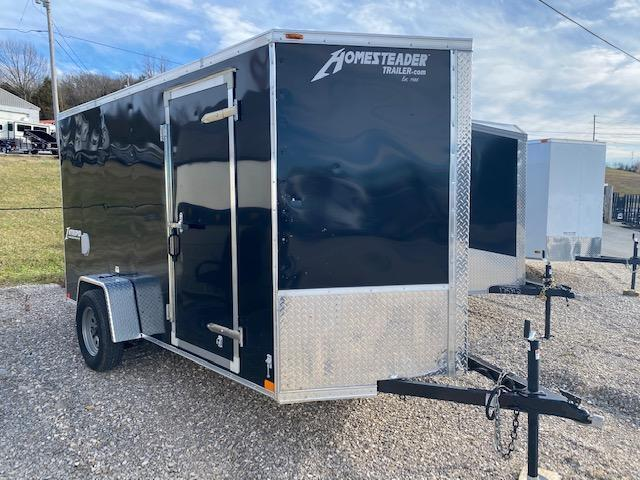 2020 Homesteader Trailers 612IS 6FT Wide X 12FT Long Enclosed Cargo Trailer