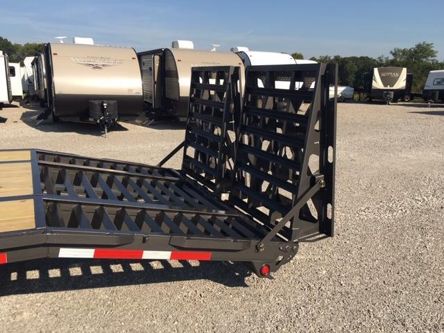 2019 Anderson Manufacturing G83010TW Equipment Trailer