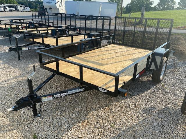 2021 Anderson Manufacturing EC610LS Utility Trailer
