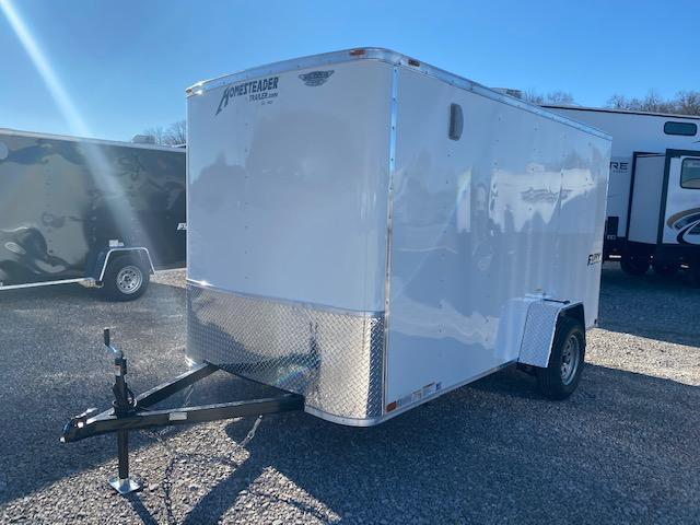 2021 Homesteader Trailers 612FS 6FT Wide X 12FT Long Enclosed Cargo Trailer