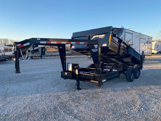 2021 Homesteader Inc. 714HX Gooseneck Dump Trailer