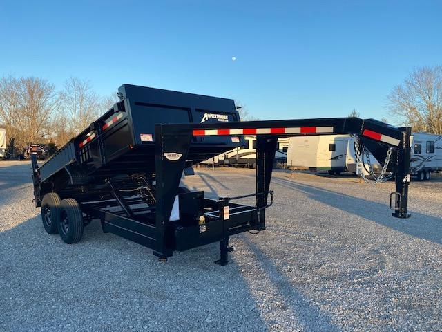 2021 Homesteader Inc. 714HX Gooseneck Dump Trailer