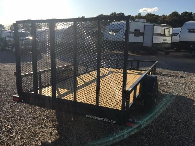 2020 Anderson Manufacturing LS612 Utility Trailer