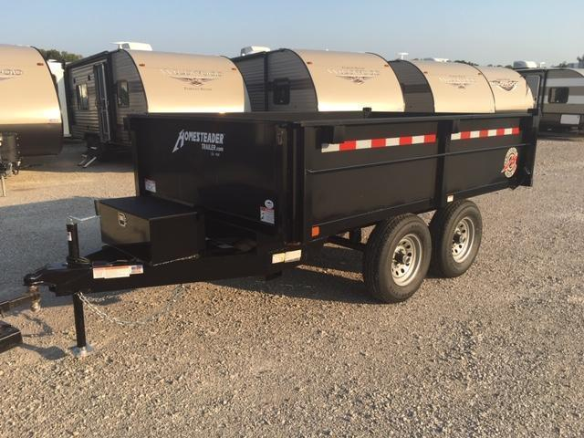 2020 Homesteader Inc. 610MB Dump Trailer