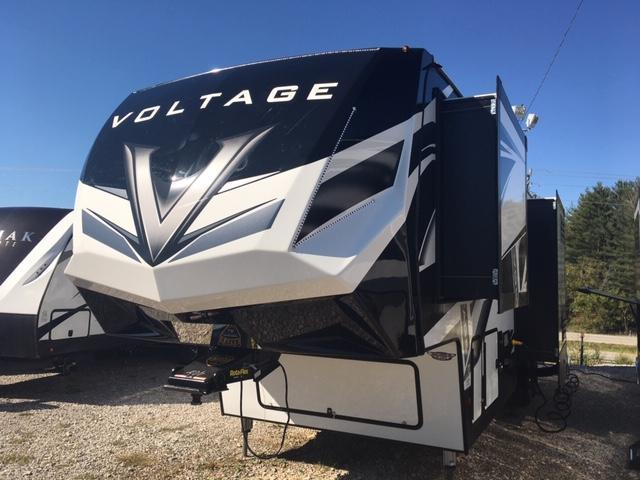2020 Dutchman Mfg Voltage VT3615 Toy Hauler RV
