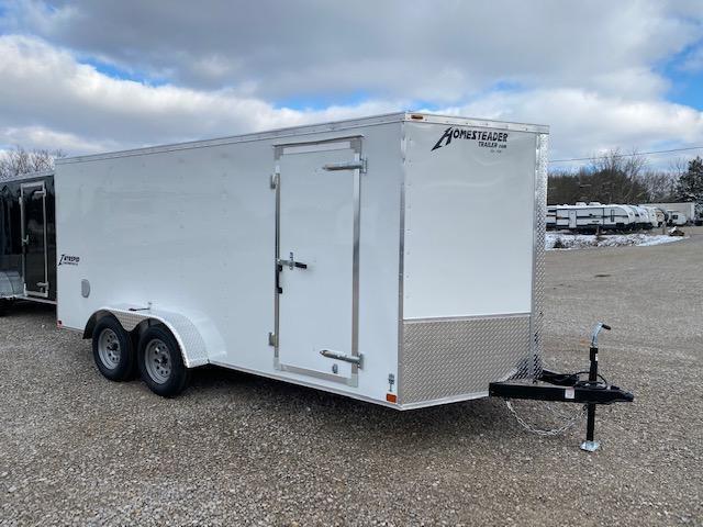 2021 Homesteader Inc. 716IT Enclosed Cargo Trailer