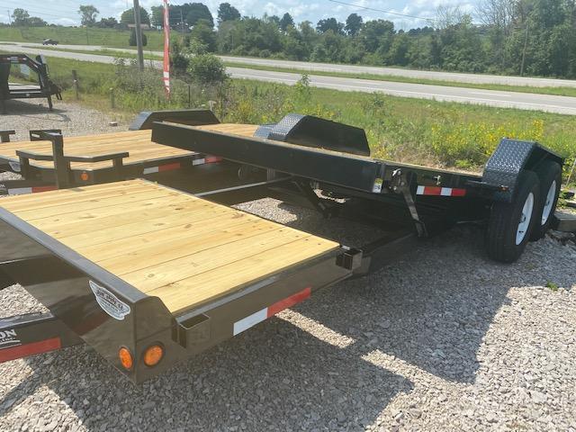 2021 Anderson Manufacturing PTI7207TC Equipment Trailer