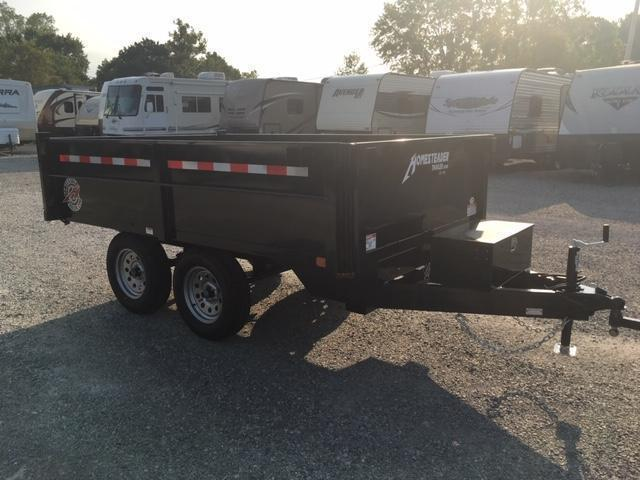 2021 Homesteader Inc. 610LB Dump Trailer