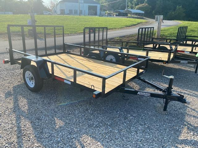 2021 Anderson Manufacturing EC610 Utility Trailer