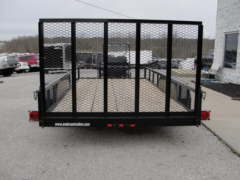 2019 Anderson Manufacturing LST716 Utility Trailer