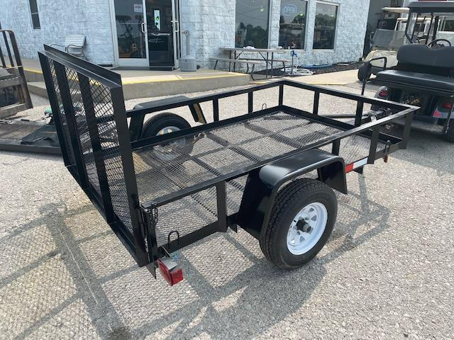 2020 Anderson Manufacturing EC58LS Utility Trailer