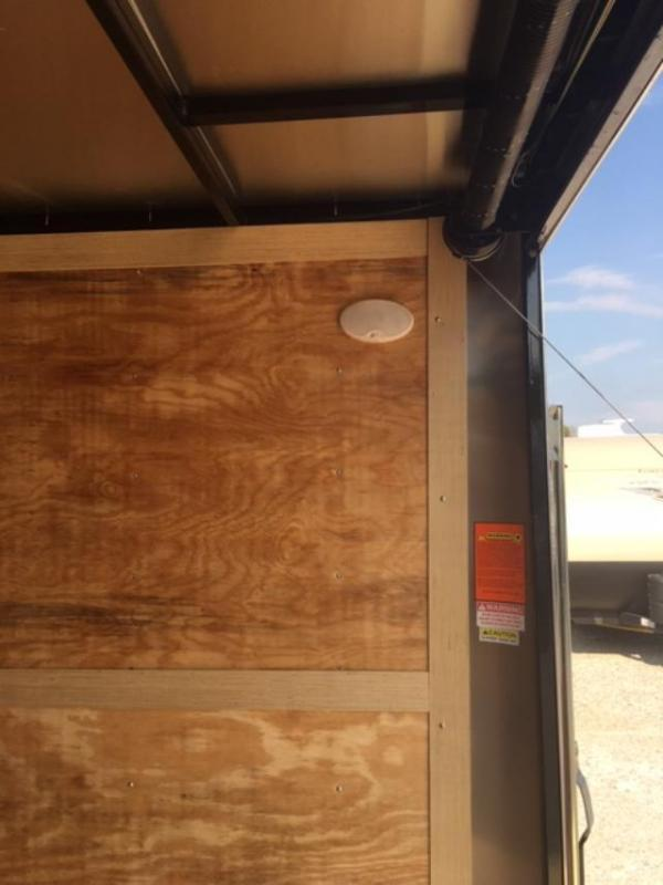 2020 Homesteader Inc. 824IT Enclosed Cargo Trailer