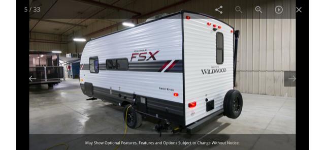 2021 Forest River Inc. Wildwood FSX 167RBK Travel Trailer R