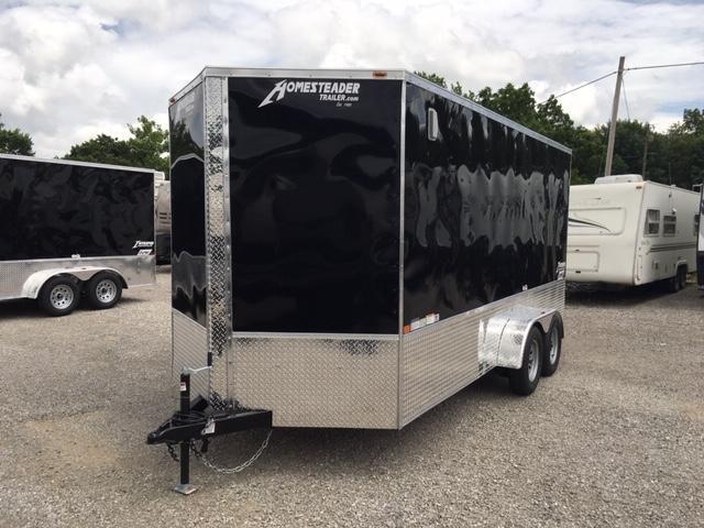 2021 Homesteader Inc. 716IT OHV Enclosed Cargo Trailer