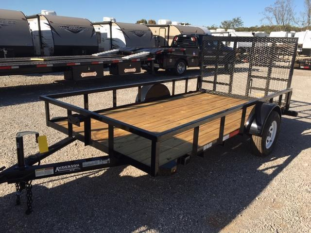 2021 Anderson Manufacturing LS612 Utility Trailer