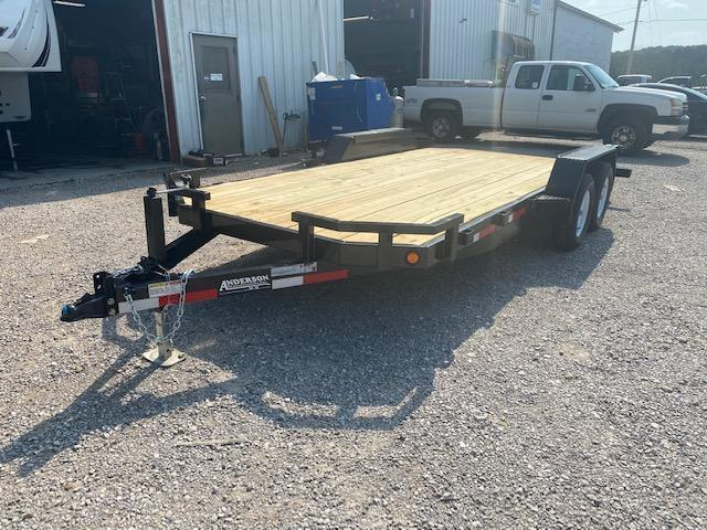 2021 Anderson Manufacturing WC718 18ft Long Car / Racing Trailer