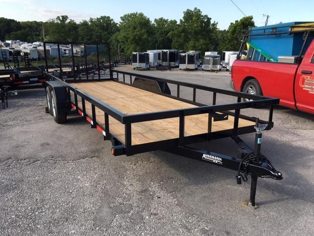 2019 Anderson Manufacturing LST722 Utility Trailer