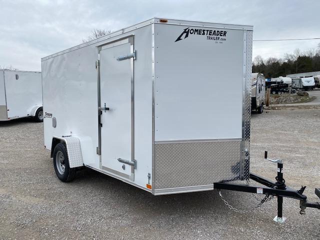 2021 Homesteader Inc. 712IS Enclosed Cargo Trailer
