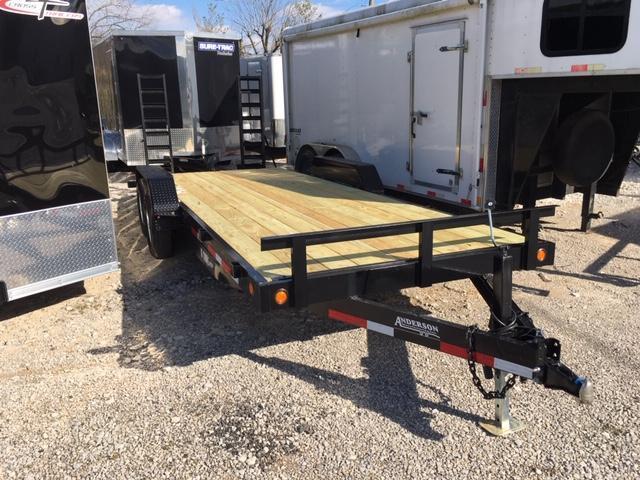 2019 Anderson Manufacturing EQ7205T Equipment Trailer