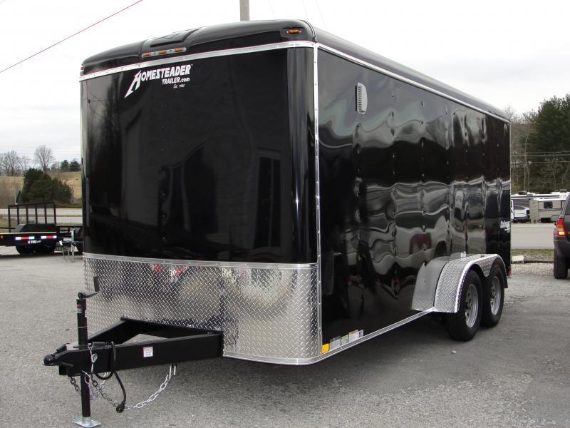 2021 Homesteader Inc. 716CT Enclosed Cargo Trailer