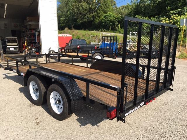 2019 Anderson Manufacturing LST614 Utility Trailer