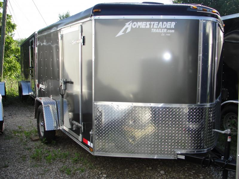 2019 Homesteader Inc. 710HS Enclosed Cargo Trailer