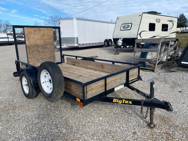 2014 Big Tex Trailers 29SA-10BK 5FT Wide X 10FT Long Utility Trailer