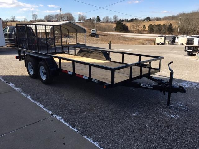 2019 Anderson Manufacturing LST616 Utility Trailer