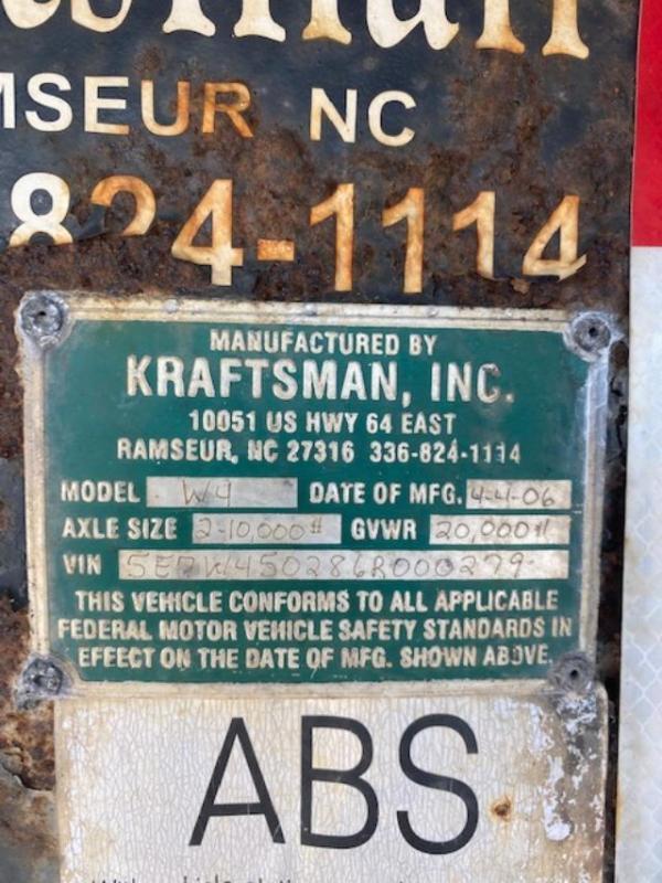 2006 Kraftsman Trailers W4 102 Wide X 50FT Long