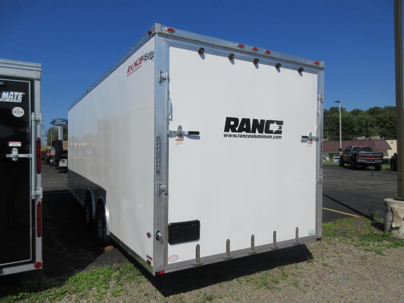 2021 Rance Aluminum Trailers Car Haulers RECH824TA2