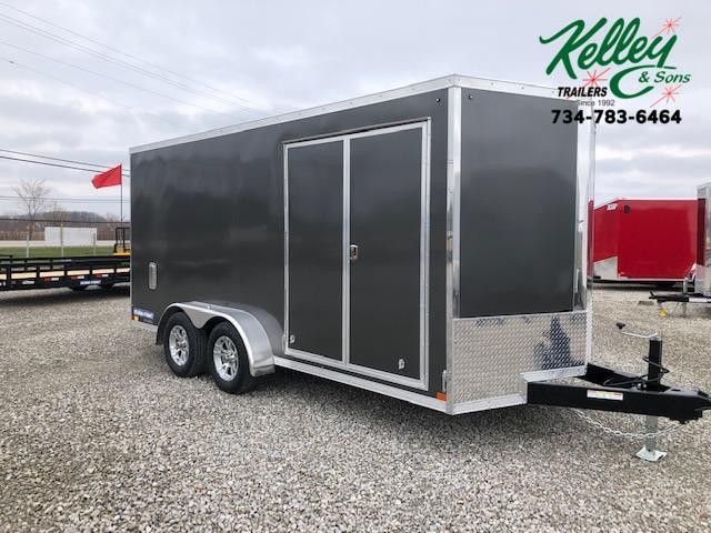 2021 Sure-Trac 7x16 7K Pro Series Wedge Cargo