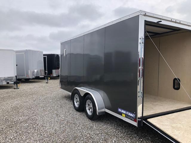 2020 Sure-Trac 7x16 7K Pro Series Wedge Cargo