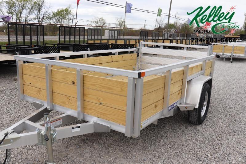 2021 Sure-Trac 6x10 Aluminum Tube Top 3-Board Utility Trailer