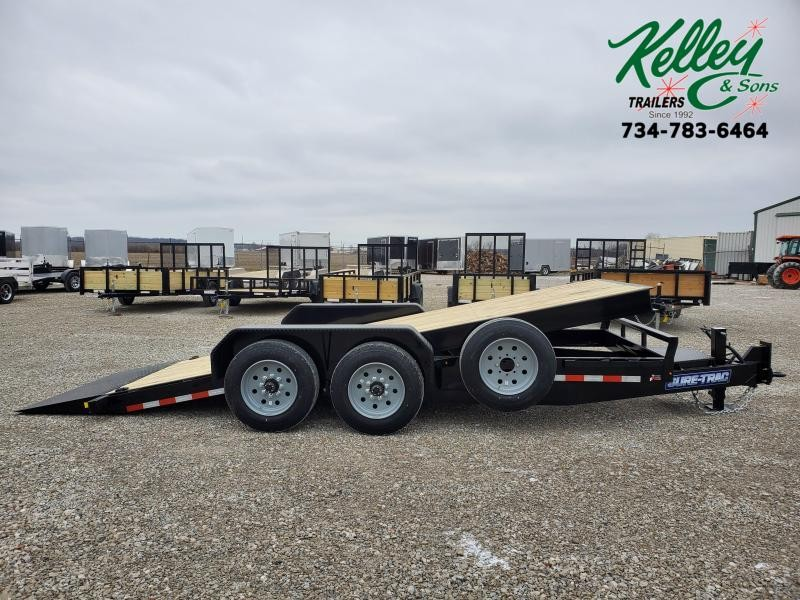 2021 Sure-Trac 7x18 16K Tilt Bed Equipment Trailer