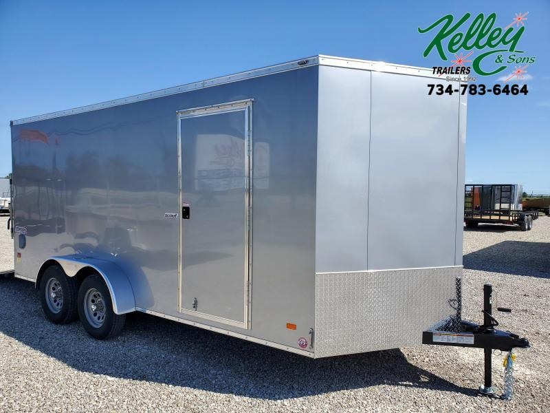 2021 Bravo Trailers 7x16 7K Scout Enclosed Cargo Trailer