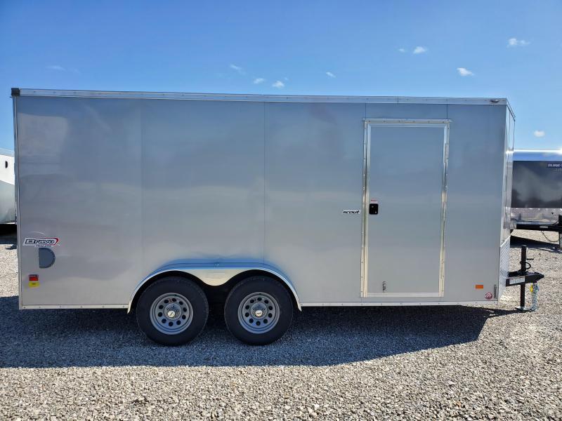 2021 Bravo Trailers 7x16 7K Scout Enclosed Cargo Trailer