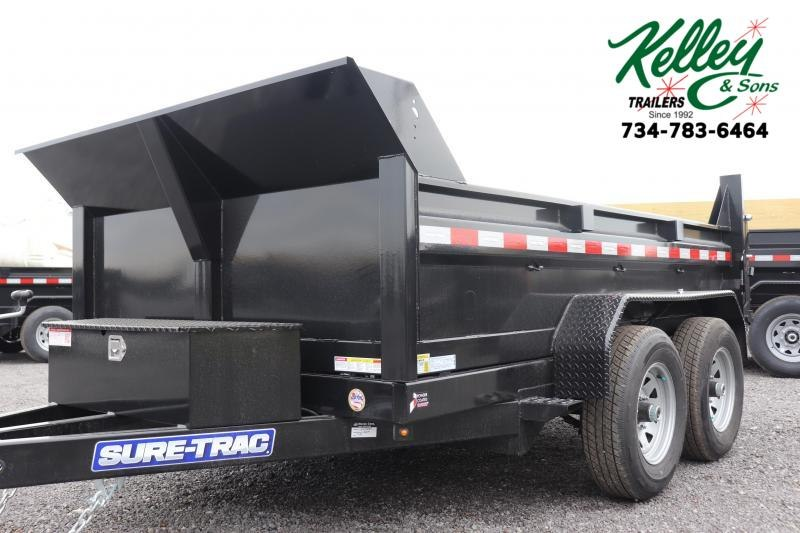 "2021 Sure-Trac 72""x10 10K Single Ram Dump Trailer"