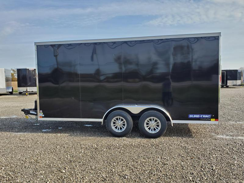 2021 Sure-Trac 7x16 10K Pro Series Wedge Enclosed Cargo Trailer