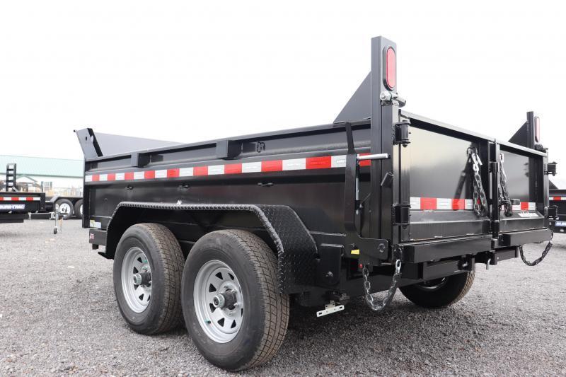 "2022 Sure-Trac 72""x10 10K Single Ram Dump Trailer"
