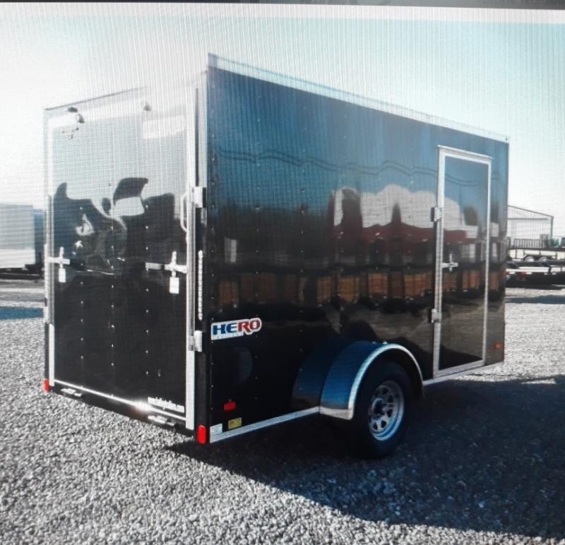 2022 Bravo Trailers  6x12 Hero Enclosed Cargo Trailer w/ Ramp