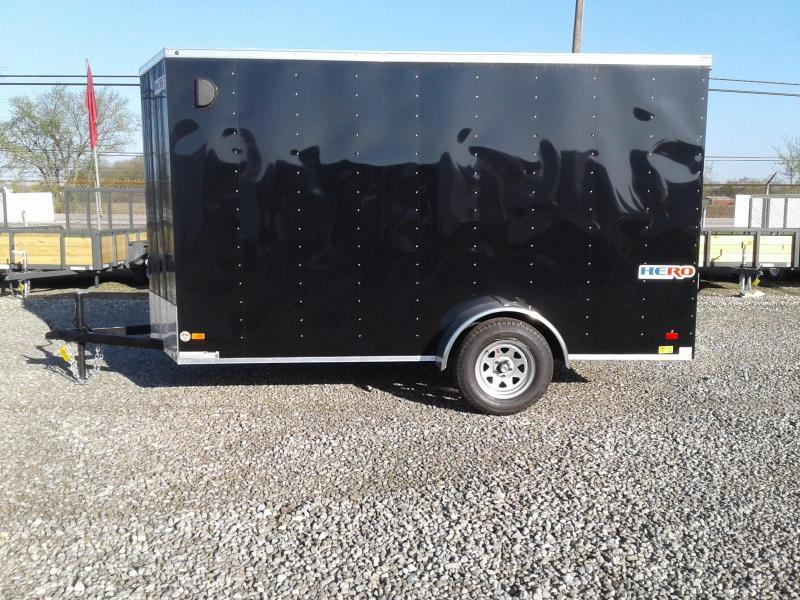 2021 Bravo Trailers  6x12 Hero Enclosed Cargo Trailer w/ Ramp