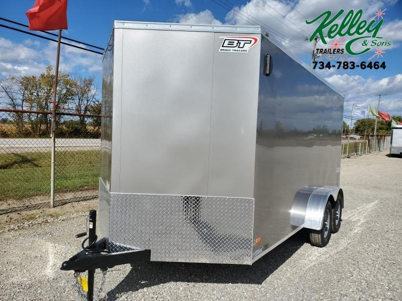 2021 7x14 7K Bravo Scout w/ Ramp Door Enclosed Cargo Trailer