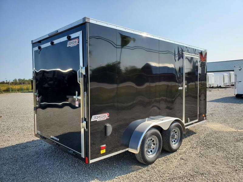 2021 7x14 7K Bravo Scout w/ Ramp Door Enclosed Cargo Trailer