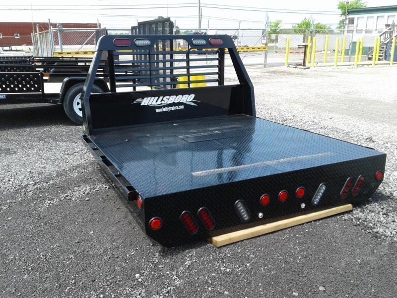 2021 Hillsboro Industries SLT Steel SWSB Truck Bed
