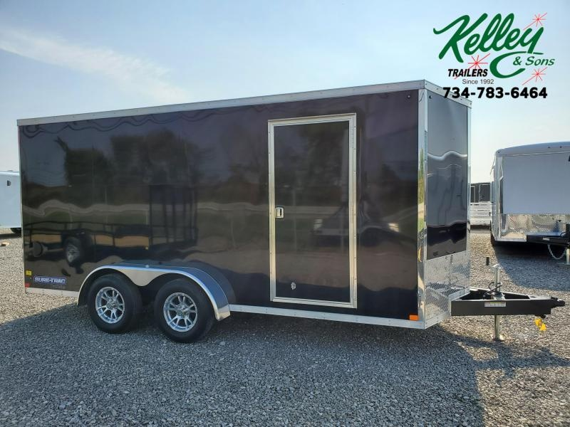 2021 Sure-Trac 7x16 7K Pro Series Wedge Enclosed Cargo Trailer