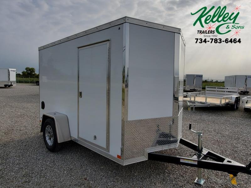 2021 Sure-Trac 6x10 Pro Series Wedge Cargo Trailer